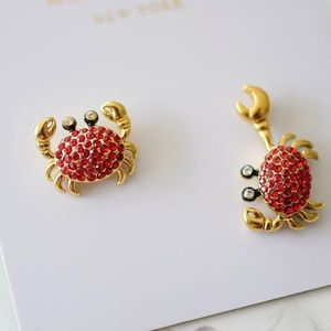 Kate Spade Shore Thing Crab Stud Earrings